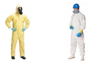 Pracovní oděvy vhodné pro chemický průmysl