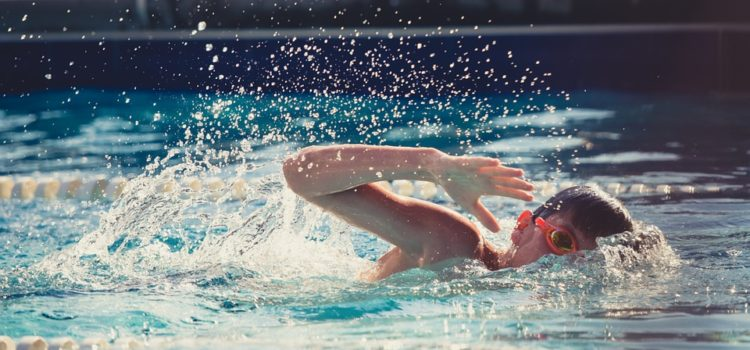 Chyby při plavání
